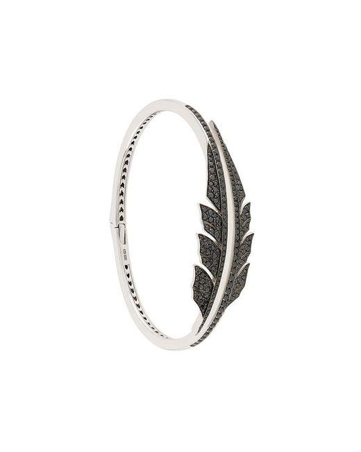 Stephen Webster - Metallic Open Diamond Feather Bracelet - Lyst