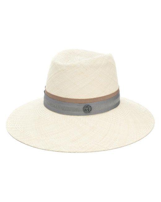 Maison Michel - Natural Wide Brim Hat for Men - Lyst