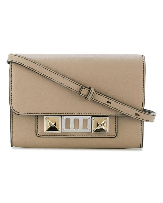 Proenza Schouler | Natural Ps11 Wallet With Strap | Lyst