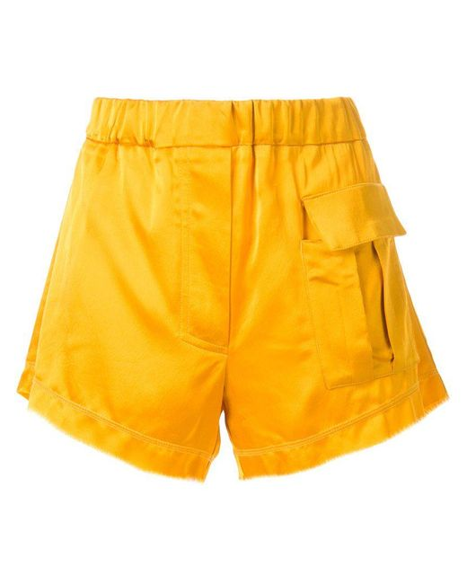Manning Cartell | Yellow Front Pocket Shorts | Lyst