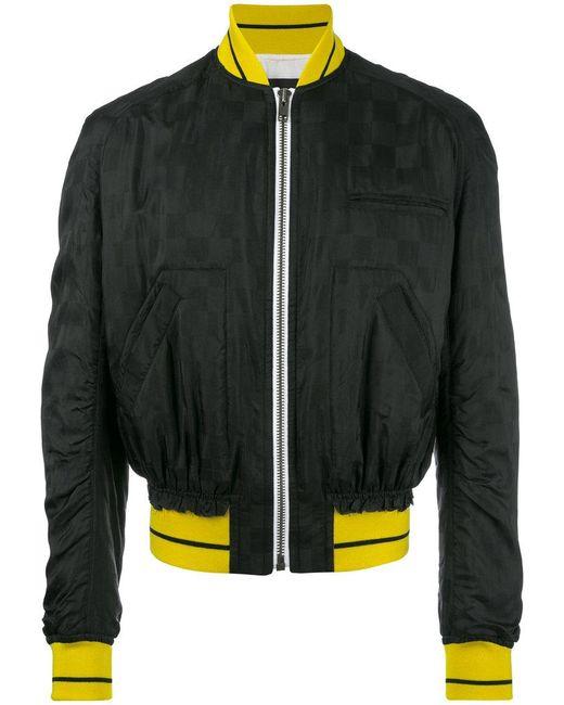 Haider Ackermann - Black Zipped Bomber Jacket for Men - Lyst