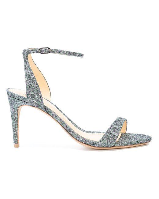 Alexandre Birman - Metallic Santine Sandals - Lyst