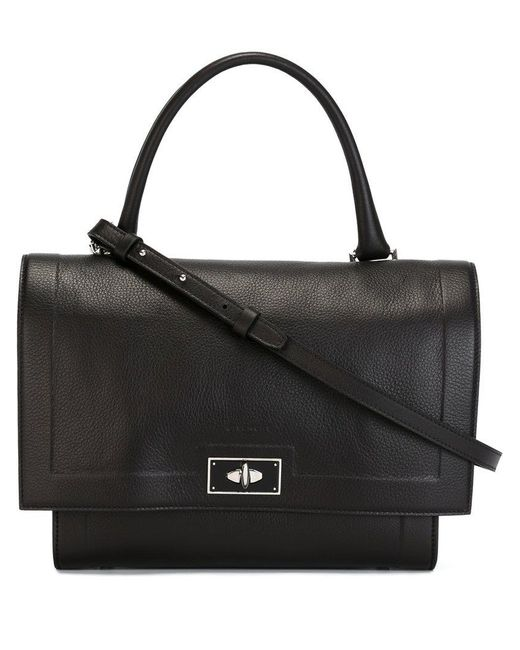 Givenchy | Black Small Shark Leather Tote | Lyst