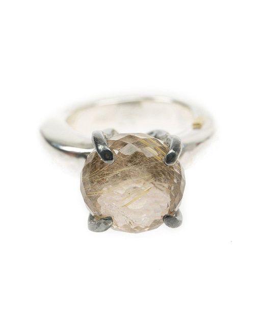 Rosa Maria - Gray Quartz Ring - Lyst