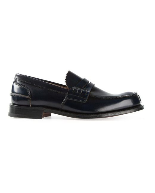 Church's | Black 'pembrey' Loafers for Men | Lyst