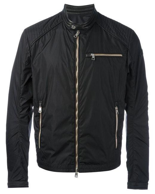 Moncler | Black Lightweight Zipped Jacket for Men | Lyst