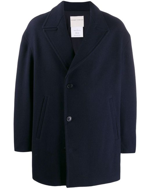 Stephan Schneider Blue Mill Single-breasted Jacket for men