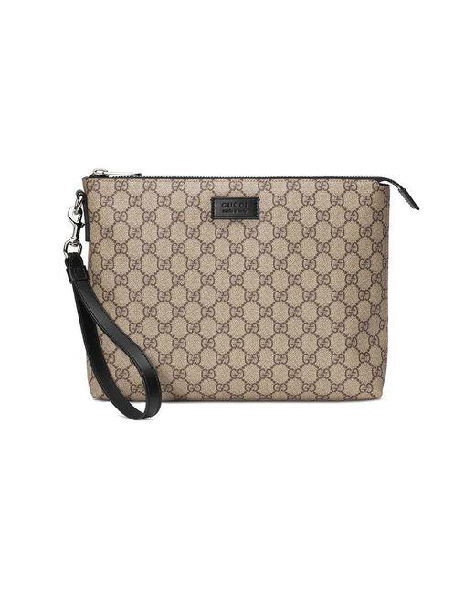 620ccc14e Gucci - Multicolor GG Supreme Men's Bag for Men - Lyst ...