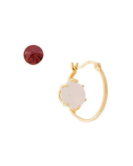 Iosselliani - Multicolor Puro Reversed Rose Quartz Earrings - Lyst