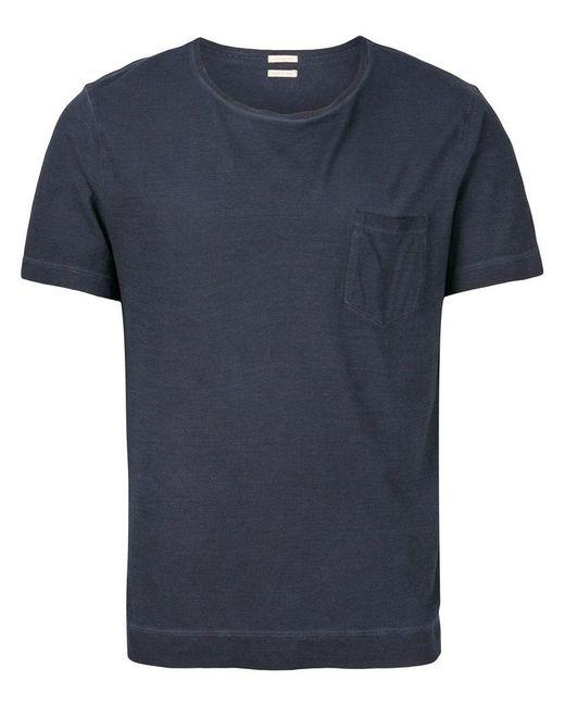 Massimo Alba - Blue Patch Pocket T-shirt for Men - Lyst