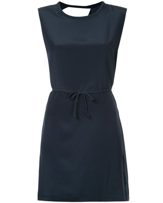 Kacey Devlin - Black Collapse Back Mini Dress - Lyst
