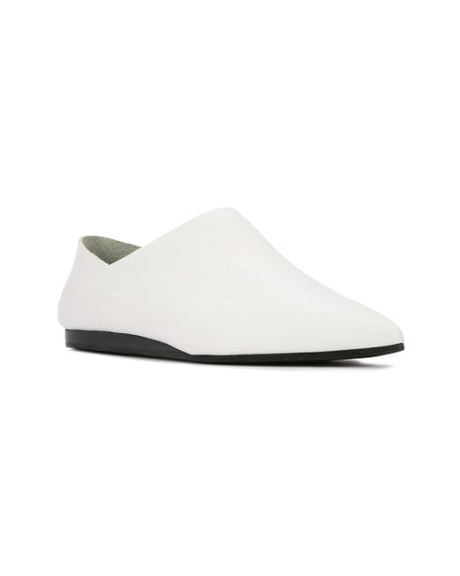 e2b1f26986 ... McQ Alexander McQueen - Liberty Fold (white) Women s Flat Shoes ...