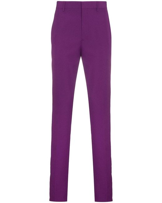 Purple Side Stripe Trousers CALVIN KLEIN 205W39NYC S5rjyPvN