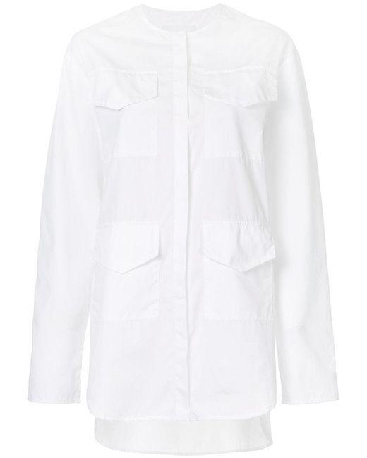 Georgia Alice | White Pocket Detail Shirt | Lyst
