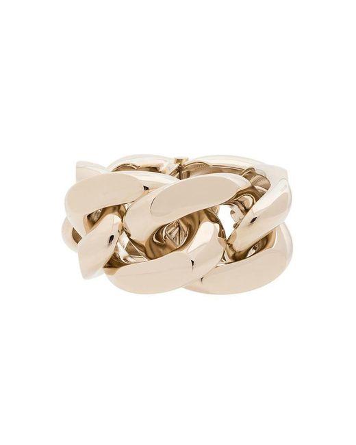 Saint Laurent - Metallic Oversized Gold-tone Chain Bracelet - Lyst