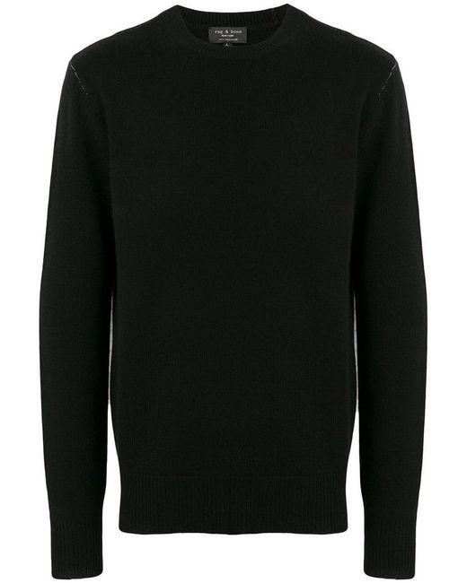 Rag & Bone - Black Jersey de cashmere for Men - Lyst