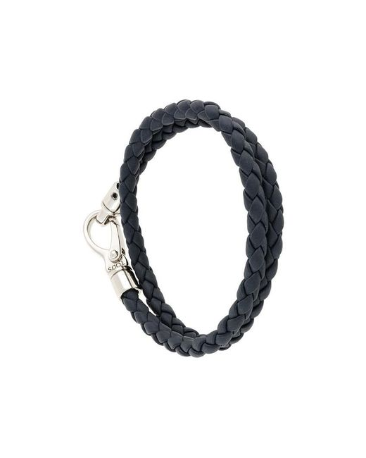 Tod's - Blue Braided Bracelet for Men - Lyst