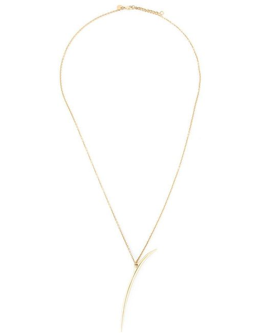 Shaun Leane - Metallic Long 'quill' Necklace - Lyst