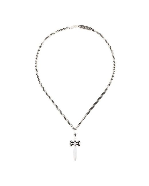 King Baby Studio - Metallic Dagger Pendant Necklace for Men - Lyst