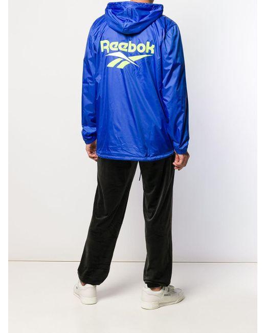 1d90dd93ca5 ... Reebok - Blue Vector Windbreaker for Men - Lyst