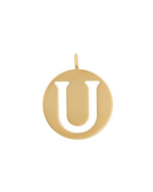 Chloé - Metallic U Coin Pendant - Lyst