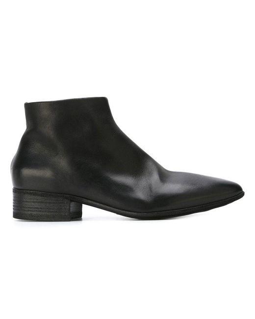 Marsèll - Black Bottines zippées à bout pointu for Men - Lyst