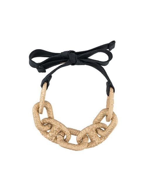 Marni - Black Chunky Chain Bracelet - Lyst