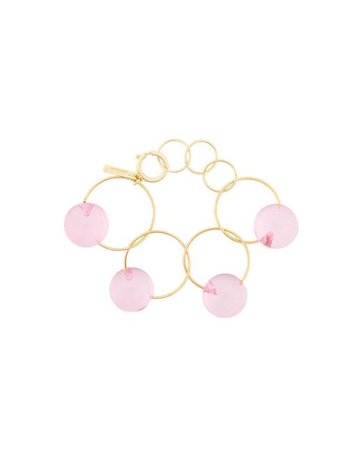 Marni - Metallic Sphere Embellished Chain Bracelet - Lyst