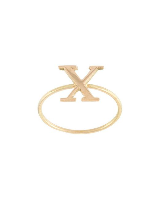 Wouters & Hendrix | Metallic 'x' Ring | Lyst