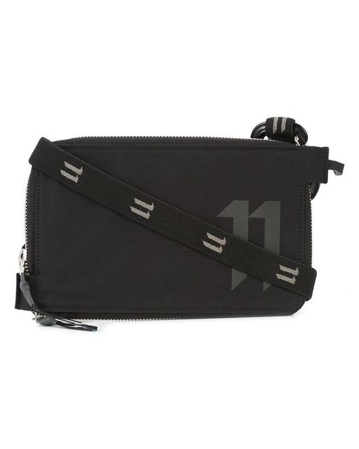 Boris Bidjan Saberi 11 - Black Logo Print Zipped Wallet for Men - Lyst
