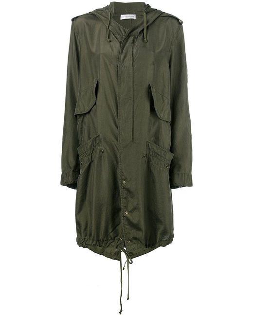 Faith Connexion - Green Hooded Raincoat - Lyst