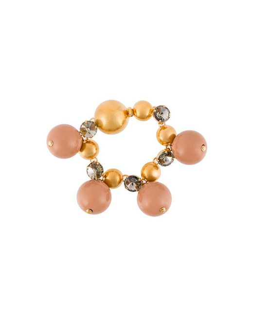 Marni - Brown Sphere Bracelet - Lyst