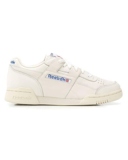 186f33b38251e Reebok - White Lace-up Sneakers for Men - Lyst ...