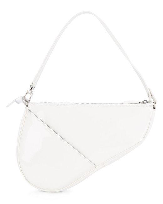 we11done - White Slit Pocket Shoulder Bag - Lyst