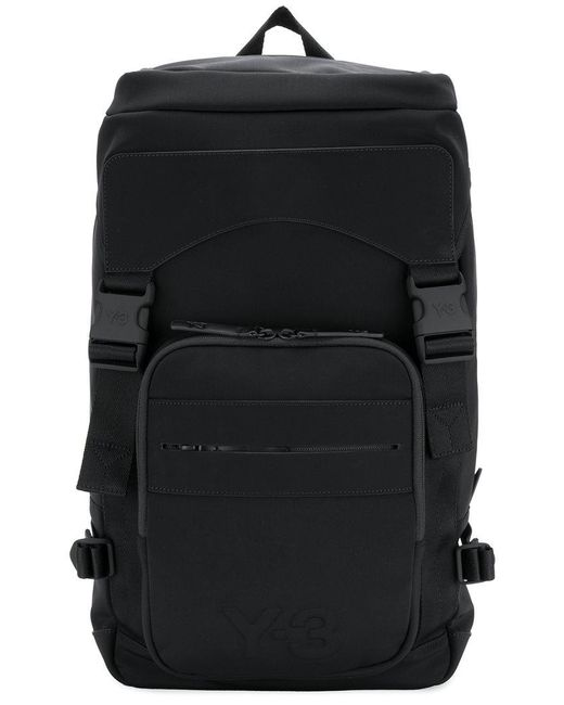 Y-3   Black Ultratech Backpack for Men   Lyst
