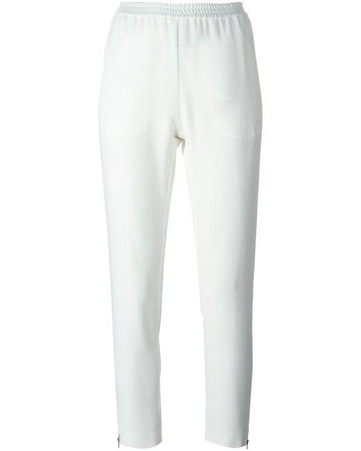 Stella McCartney - White 'tamara' Trousers - Lyst