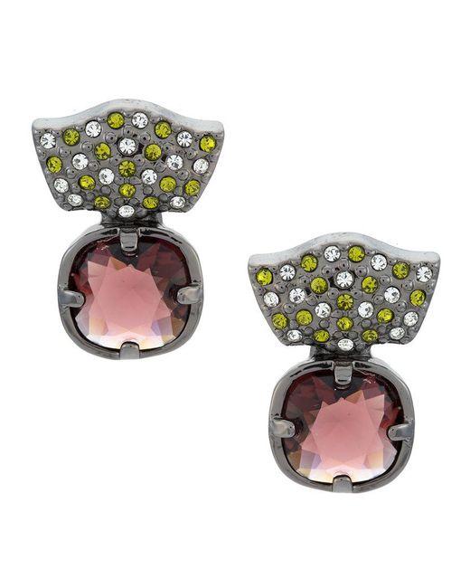 Camila Klein - Metallic Indicolite Earrings - Lyst