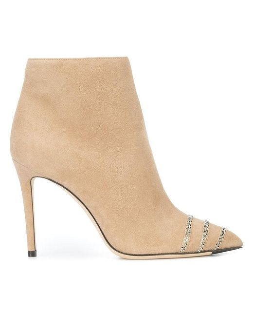 Jimmy Choo - Natural Boo Ankle Boots - Lyst