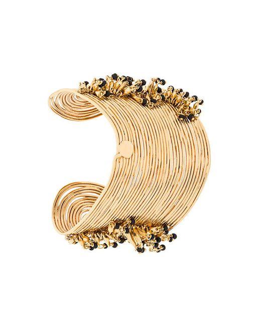 Gas Bijoux   Metallic Wave Pampille Bracelet   Lyst