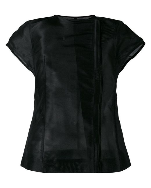 Rick Owens   Black Short Sleeve Jacket   Lyst