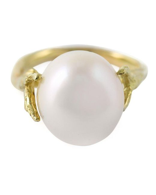 Wouters & Hendrix - Metallic 'pearl' Ring - Lyst