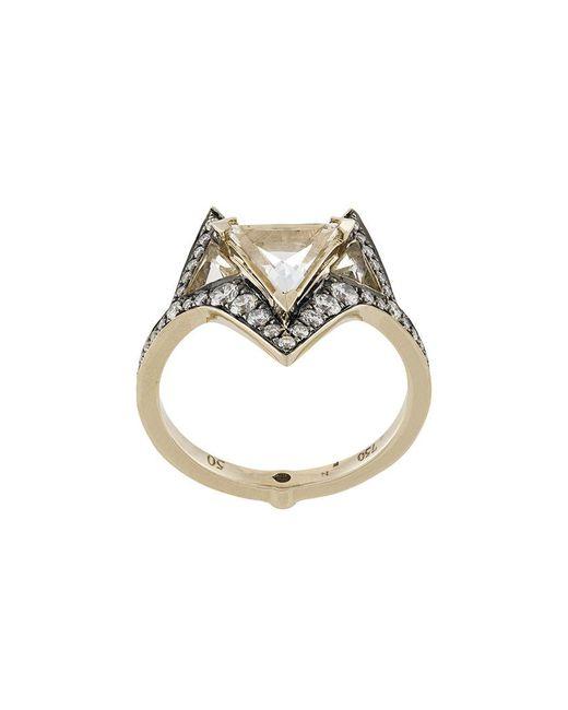 Noor Fares - Metallic Hava Ring - Lyst