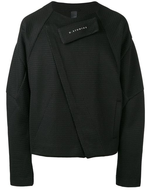Odeur | Black 'odd' Mesh Jacket for Men | Lyst