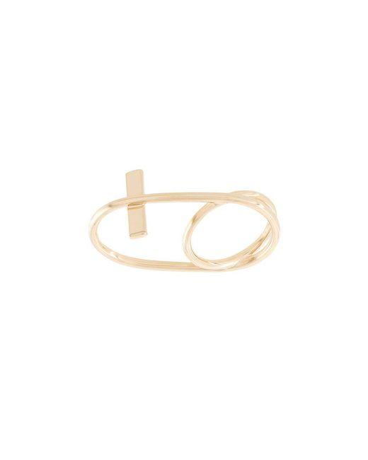 Eshvi Fetri triple branch ring - Metallic eWY83fKzh