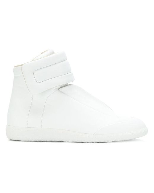Maison Margiela - White Future Leather High-top Sneaker - Lyst
