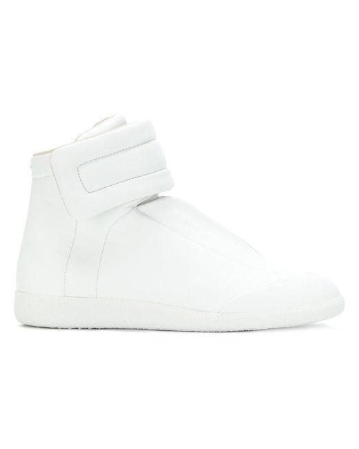 Maison Margiela - White Future Leather High-top Sneaker - Lyst