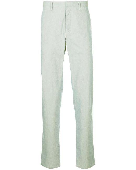 Cerruti 1881 - Blue Straight Leg Trousers for Men - Lyst