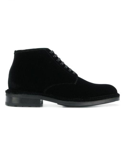 Saint Laurent - Black Oran Boots for Men - Lyst