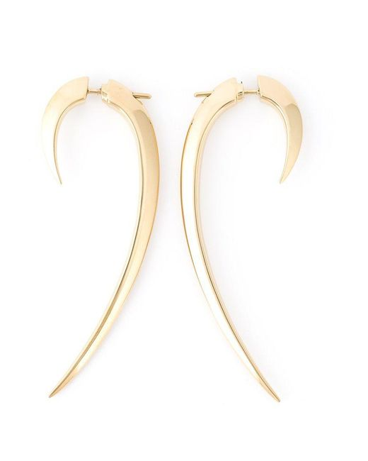 Shaun Leane | Metallic 'signature Tusk' Long Earrings | Lyst