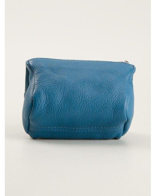 8ec0c6da594a ... Lyst Givenchy - Blue  pandora  Wallet ...